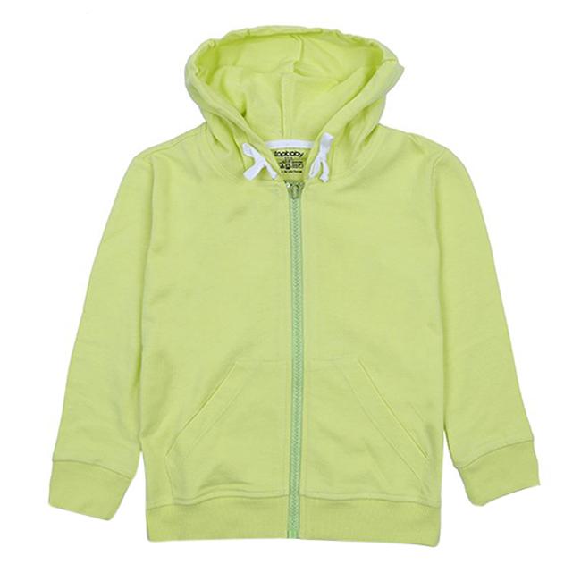 Áo Khoác Cotton Chống Nắng Bé Gái Topbaby G116017 - Màu Vàng