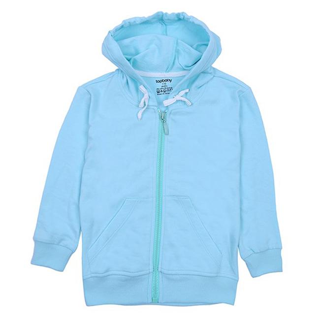 Áo Khoác Cotton Chống Nắng Bé Gái Topbaby G116019 - Màu Xanh