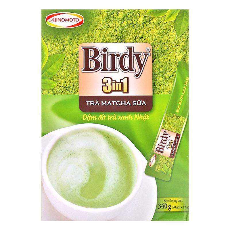 Hộp 20 Gói Birdy 3in1 Trà Matcha Sữa