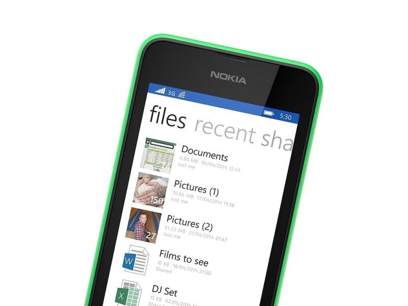 Lumia 530 có thêm 15GB lưu trữ đám mây trên dịch vụ OnDrive
