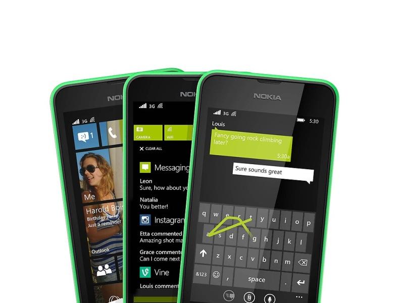 Nokia Lumia 530 chạy hệ điều hành Windows Phone 8.1
