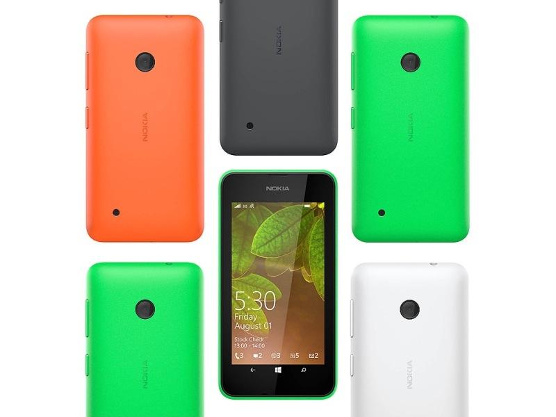 Nokia Lumia 530 có 4 màu để bạn chọn lựa