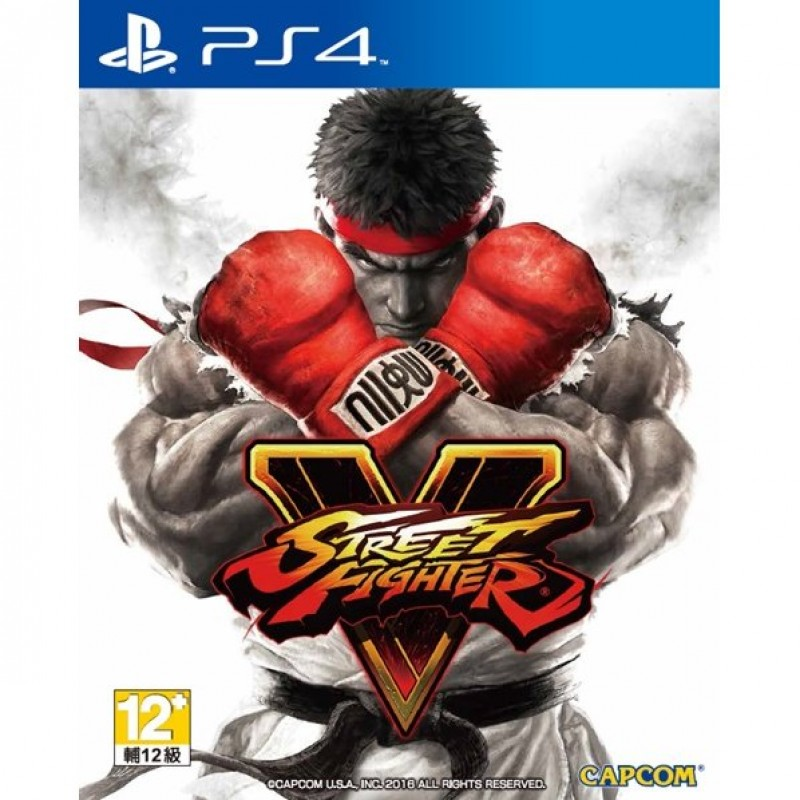 Đĩa Game Sony PS4 Street Fighter V