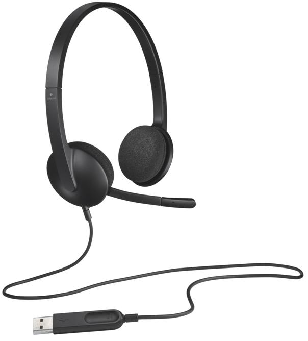 Tai nghe Logitech USB Headset H340