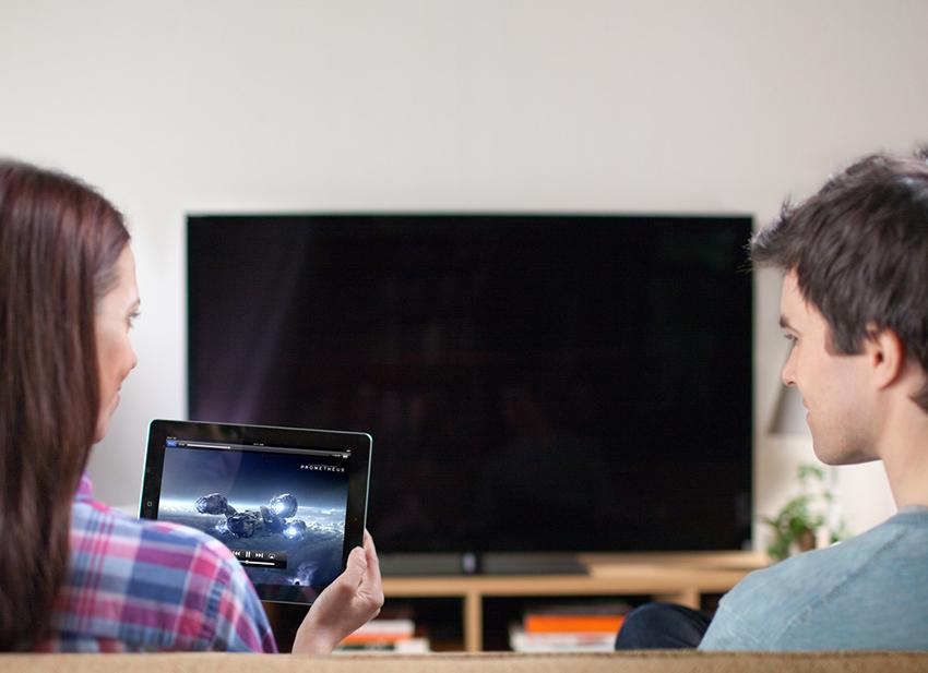 Tận hưởng kho giải trí tuyệt vời trên HDTV với công nghệ kết nối AirPlay