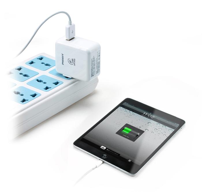 Pin Sạc Pisen USB 2.4 A cho Ipad