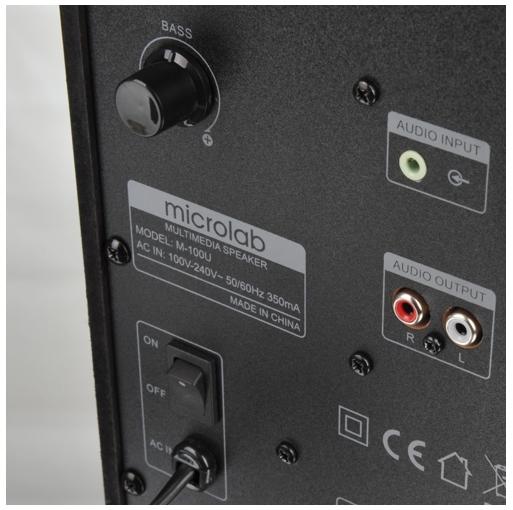 Tùy chỉnh âm thanh trên loa Microlab M-100