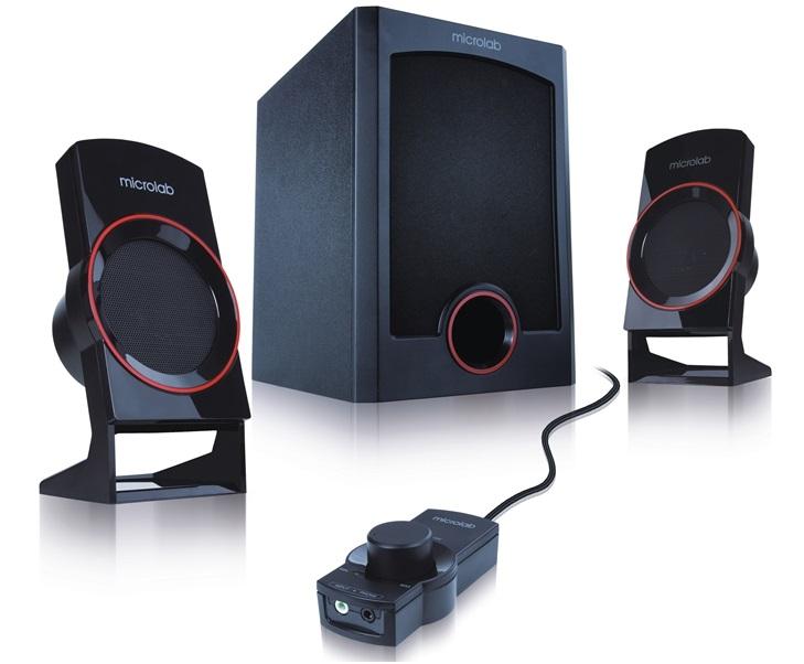 Loa Microlab M-111 hệ thống âm thanh 2.1