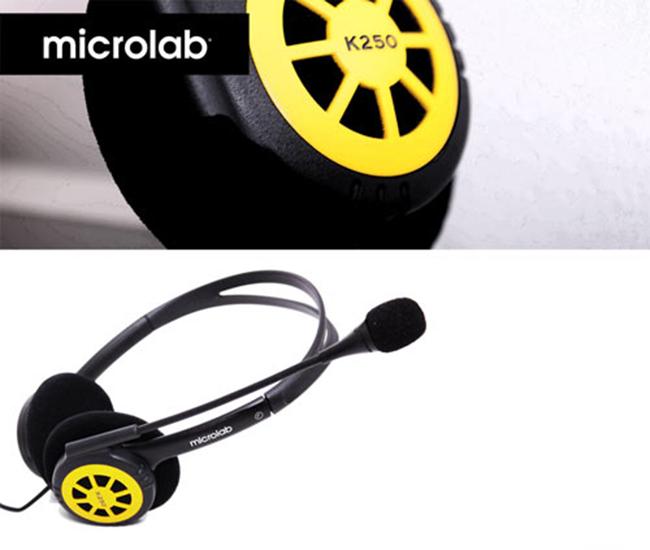 Microlab K 250, sở hữu kiểu dáng lạ mắt, trẻ trung năng động