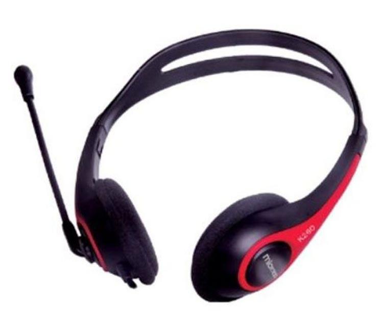 Tai nghe Microlab K 260 kiểu dáng thanh mãnh, gọn nhẹ