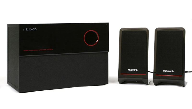 Loa Microlab M-200 hệ thống âm thanh 2.1