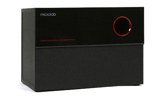 Microlab M-200 có loa Bass công suất 16W