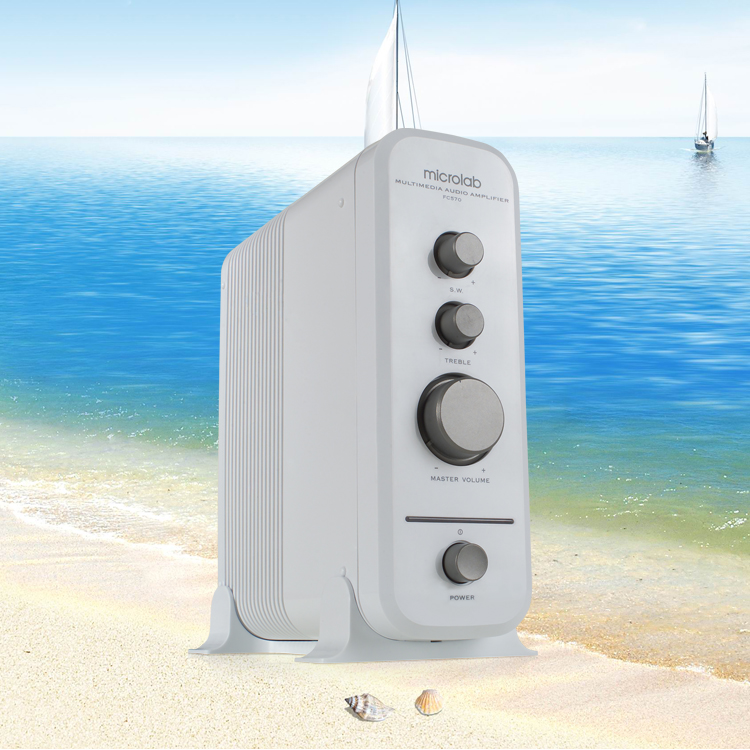 Amplier điều chỉnh âm thanh riêng biệt trên Microlab FC-570