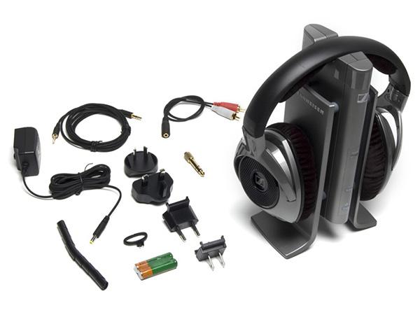 Tai nghe không dây Sennheiser RS 180 AISA và phụ kiện