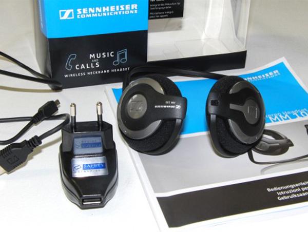 Tai nghe Sennheiser MM 100 đầy đủ phụ kiện